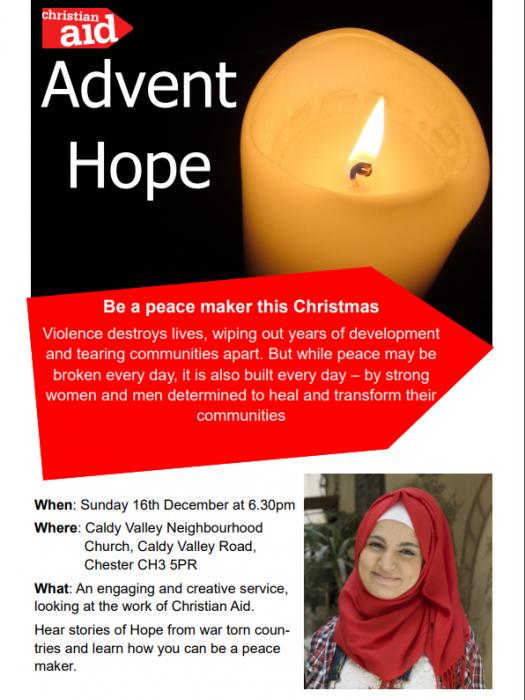 Advent Hope Poster 2018
