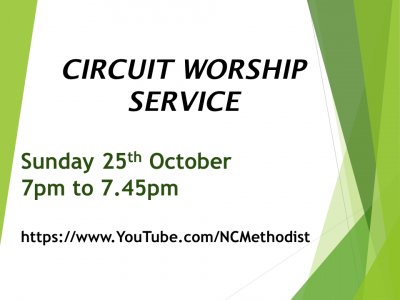 Circuit Worship 25 Oct