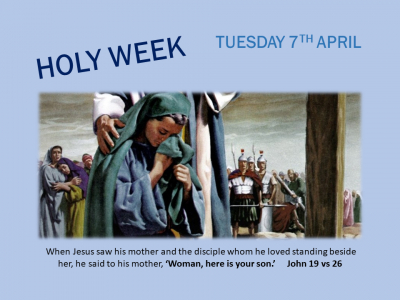 HOLY WEEK TUESDAY