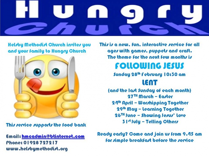Hungry  Church 2016