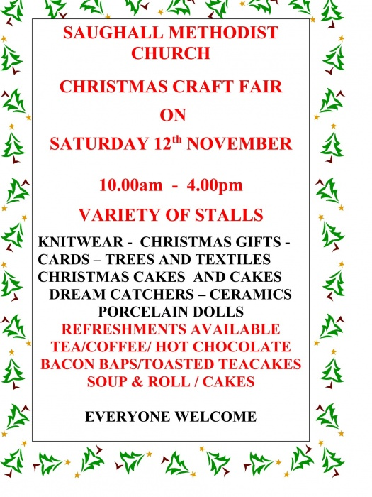 Saughall Craft Fair 2016