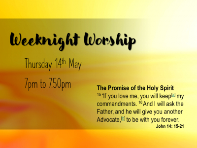 Weeknight Worship 14 May