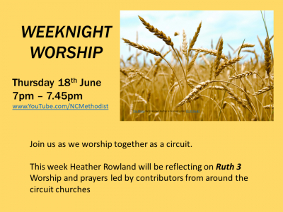 WEEKNIGHT WORSHIP 18 June