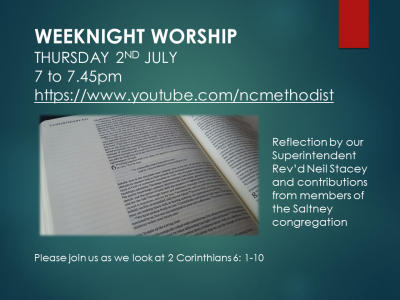 WEEKNIGHT WORSHIP 2 July