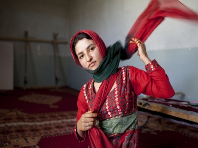 Woman in Afghanistan